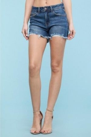 Judy Blue Fringe Cut off Shorts