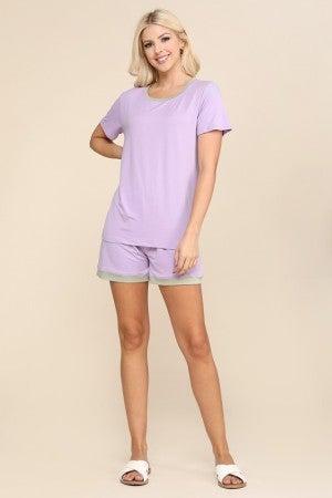 Lilac Dusty Sage Pajama Set