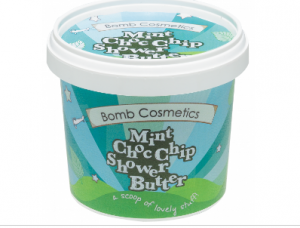 Mint ChocoChip Shower Butter - Bomb Cosmetics