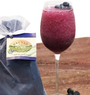 Natural Blueberry Wine Slushy Mix