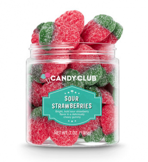 Sour Strawberries - Candy Club