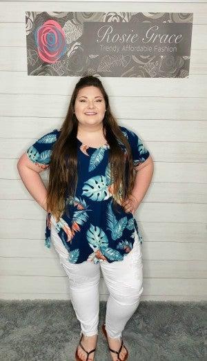 Judy Blue White Destroyed Boyfriend Jeans