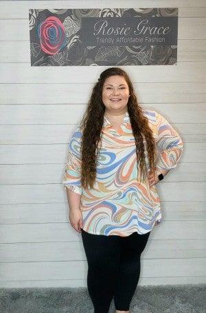 Honey Me - Gabby Style Swirly Tunic
