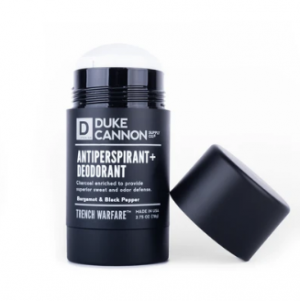 Trench Warfare Antiperspirant/Deodorant Bergamot & Black Pepper