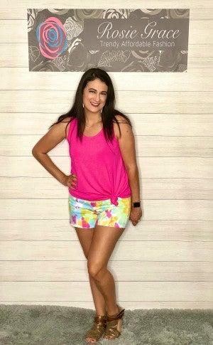 Judy Blue Tie Dye Shorts