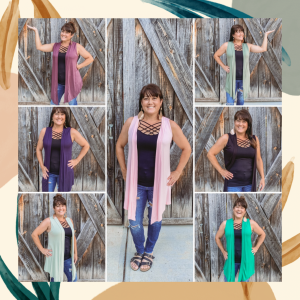 Zenana Sleeveless Cardigan
