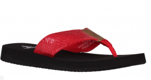 Corky's Red Yummie Flip Flop