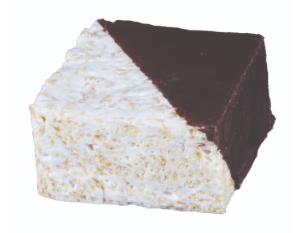 Chocolate Dipped Rice Crispy
