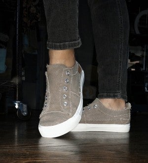 Corky's Taupe Slip-on Sneaker