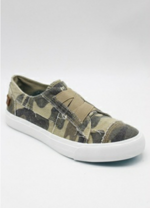 Blowfish Camo Slip-on sneaker