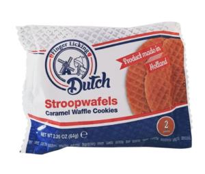 Dutch Caramel Stroopwafels 2 Pack