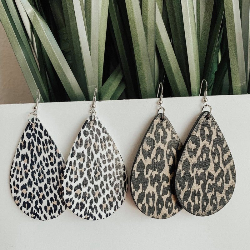 Charming Cheetah Earrings