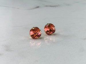 12MM Victoria Lynn Stud Earrings