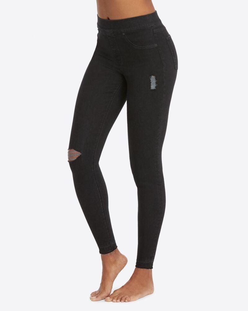 Distressed Skinny Spanx Leggings