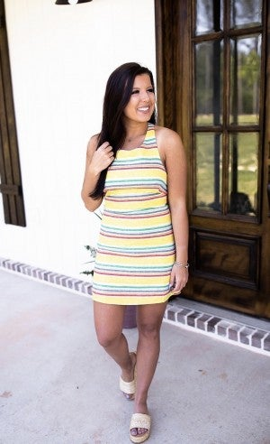 Pull Some Strings Dress *Final Sale*