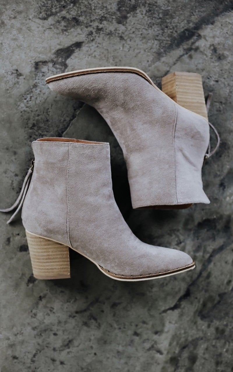 Fall Friendly Booties