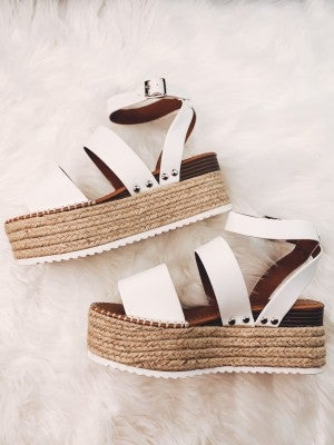 Everyday Charm Platforms-White