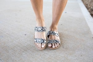 Sneaky Little Thing Sandals