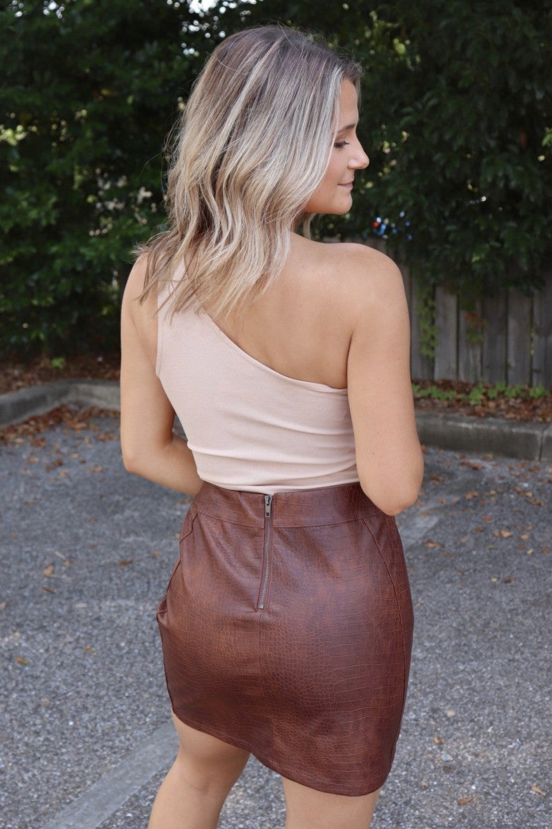 Leap Into Things Skirt