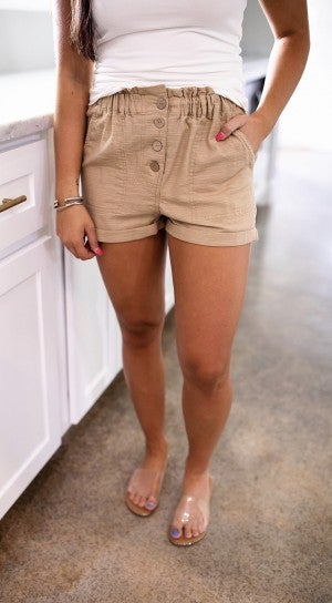 Cozy In Cali Shorts