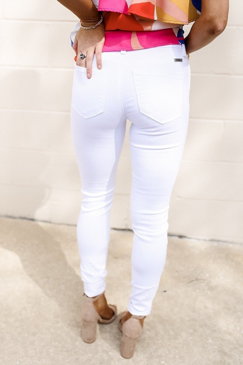 Safe Haven White Jeans