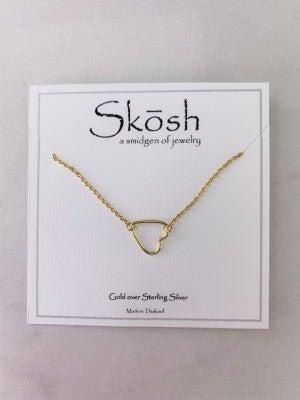 Sweet Heart Skosh Necklace