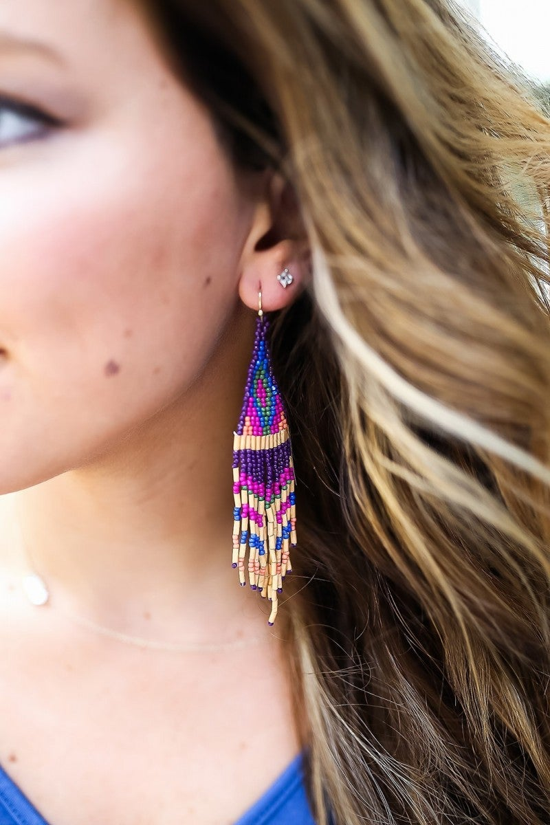 Piece Of Color Earrings