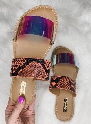 Sunny Snapshot Sandals