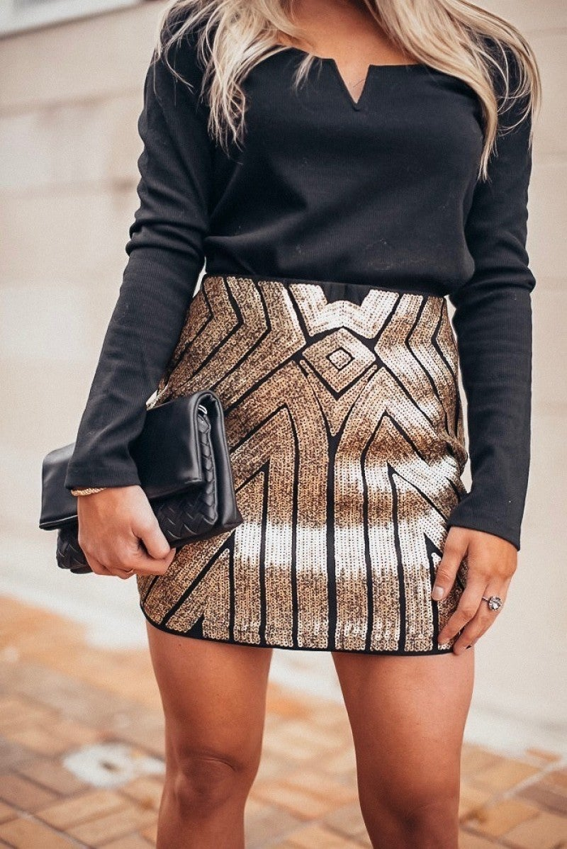 Living Glitzy Skirt