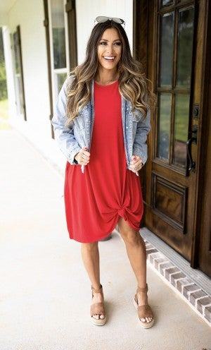 Just A Swingin' Dress- Ruby- Deal Of The Day