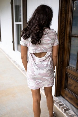 Camo Sweetheart Dress