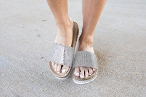 Time To Shine Sandals