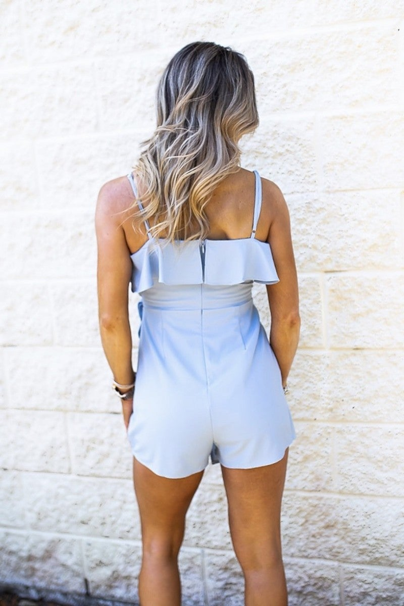 Message In The Sand Romper