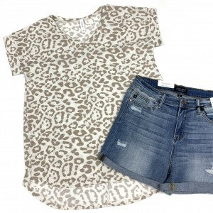 Lead By Example Leopard Top