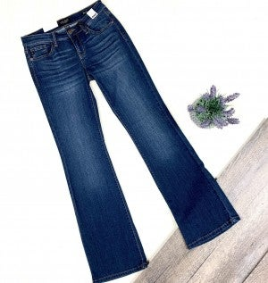 Judy Blue Rayon Bootcut- Dark Wash