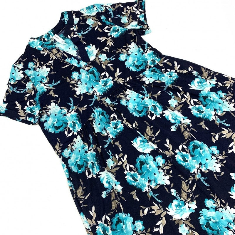 Think Of Yesterday Floral Dress