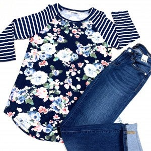 Wake Me For Spring Floral Top