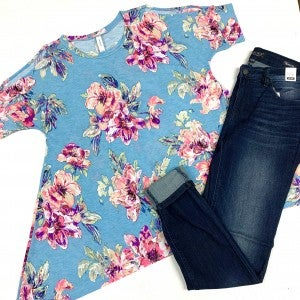 Made To Be Mine Floral Top