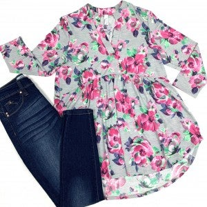 Hopeless Romantic Floral Top