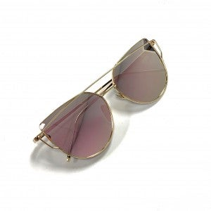 Rose Gold Cat Eye Sunnies