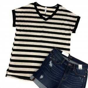 Focus On Me Striped Top