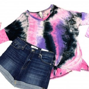 Knot My Fault TieDye Top