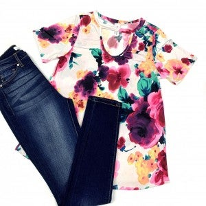 Searching For You Floral Top