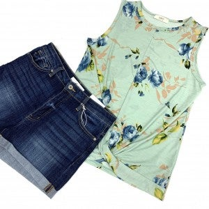 Springtime Confession Floral Top