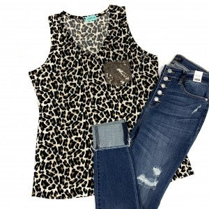 Wild For You Leopard Tank