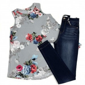 Loud Whispers Floral Tank