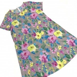 Caught Up In Time Floral Dress