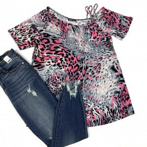 Fiercely Made Leopard Top
