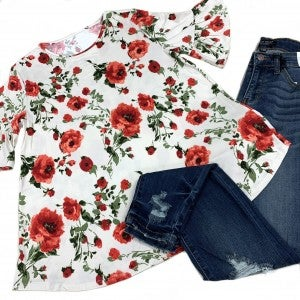 Repeat A Daydream Floral Top
