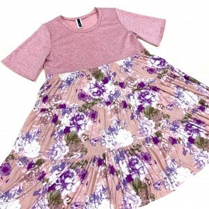 Give You My Love Floral Dress
